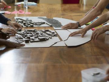 Atelier maquette Saint-Denis